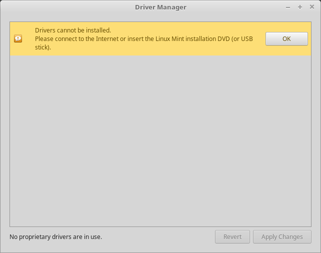 Hardware drivers — Linux Mint Installation Guide documentation