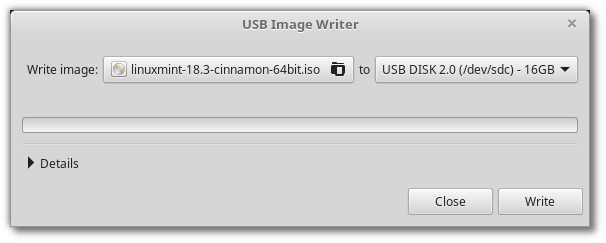 Create bootable linux usb for windows on mac